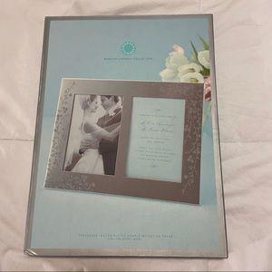 Martha Stewart Mirrored Picture / Invitation Frame